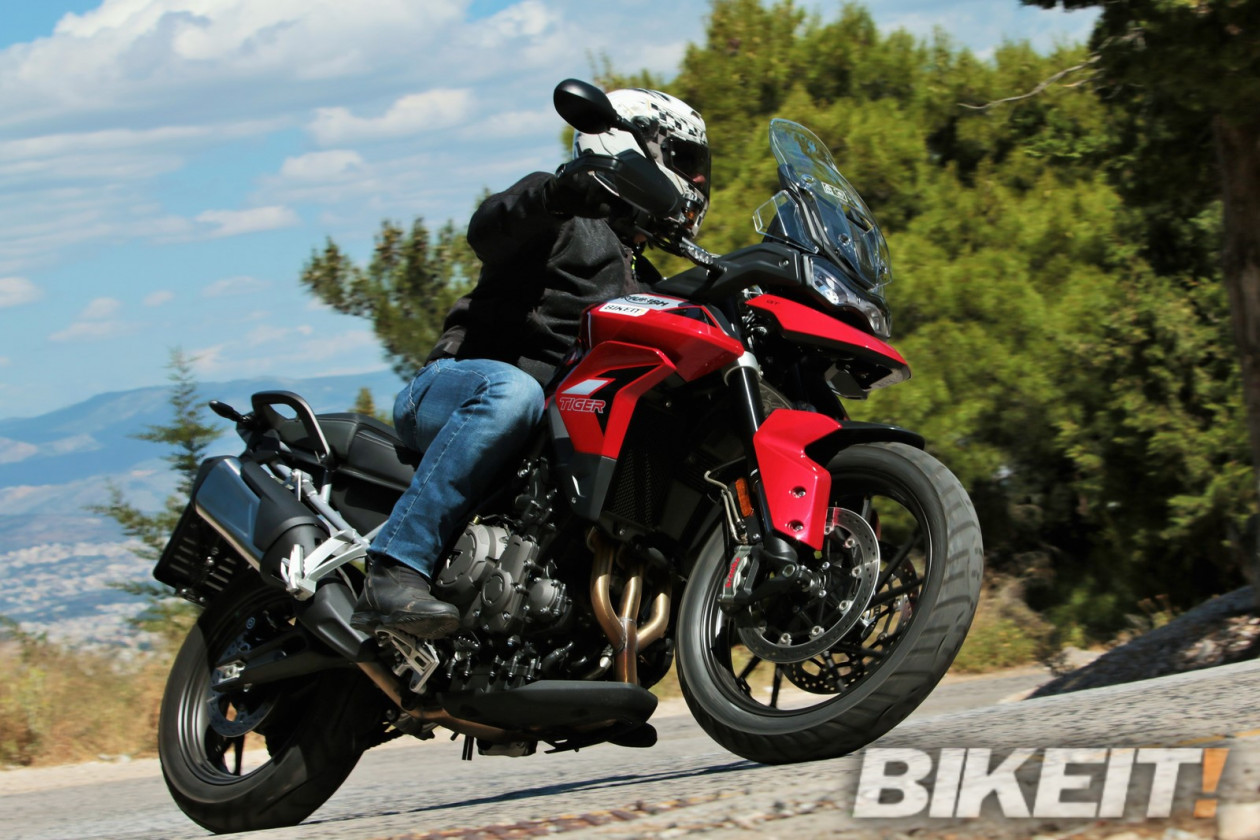 TEST – Triumph Tiger 900 GT