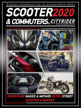 CITYRIDER Scooter & Commuter Catalog 2020