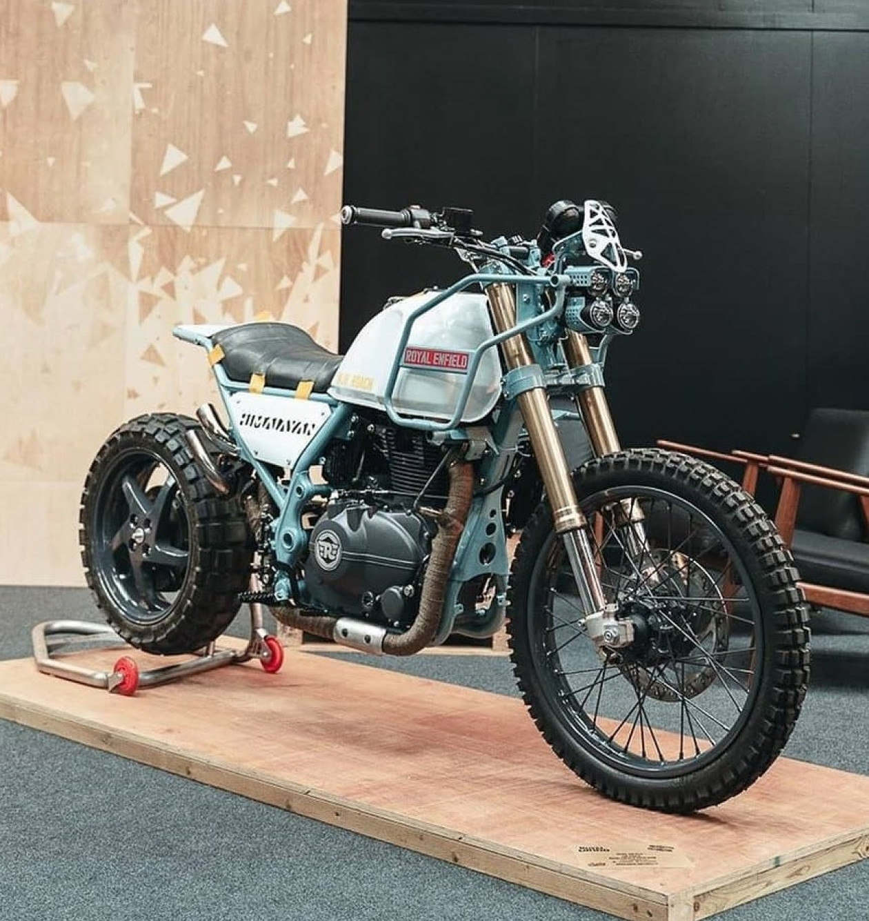 Royal Enfield Himalayan Turbo!