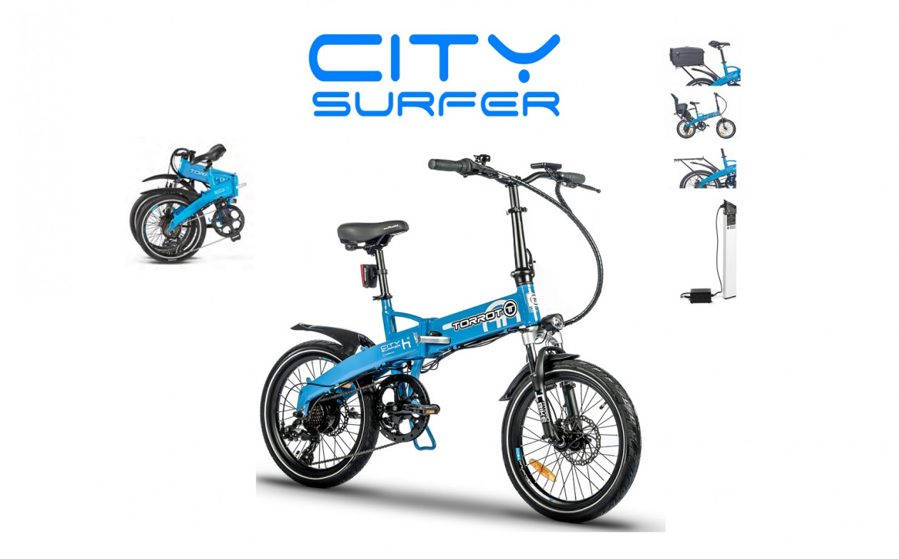Torrot City Surfer, από την eXTra products
