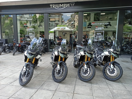 Triumph Tiger 900 GT Pro / Rally Pro – Ήρθαν και σε περιμένουν για test ride