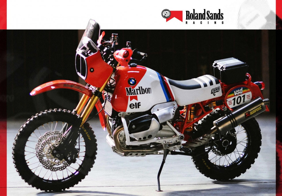 BMW Dakar GS - By Roland Sands Design