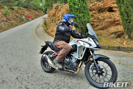 Video Test - Honda CB 500X 2021