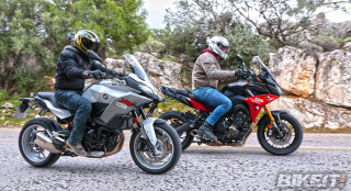 Συγκριτικό TEST - BMW F 900 XR vs Yamaha Tracer 900 GT