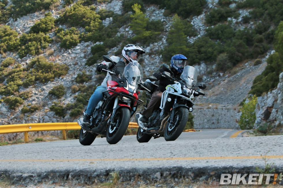 Συγκριτικό test – Honda CB500X 2020 vs Voge 500DS 2020