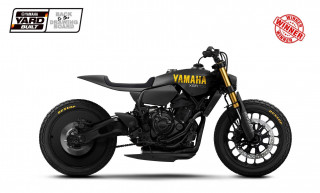Yamaha XSR700 Disruptive – Η νίκητρια του διαγωνισμού Yard Built ΄Back to the Drawing Board΄