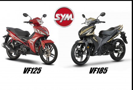 SYM VF125 EFI Vs VF185i