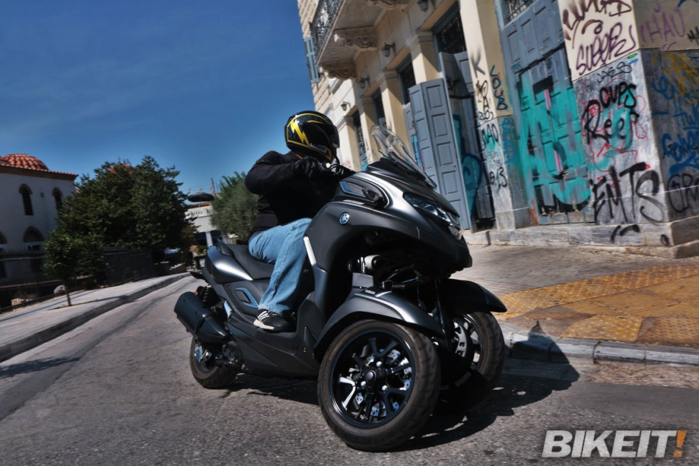 Video Test - Yamaha Tricity 300