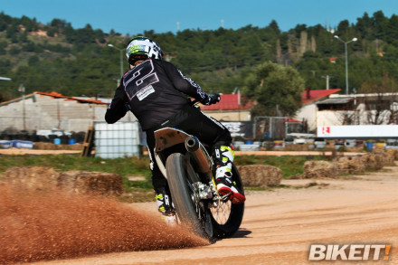 Video Test - Husqvarna Flat Track 450