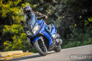 TEST – KYMCO Downtown 350i Noodoe 2019