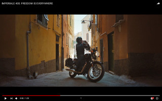 Benelli Imperiale 400: Freedom is everywhere - ατμοσφαιρικό promo video