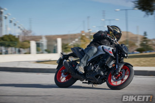 Test - Yamaha MT-03 2020