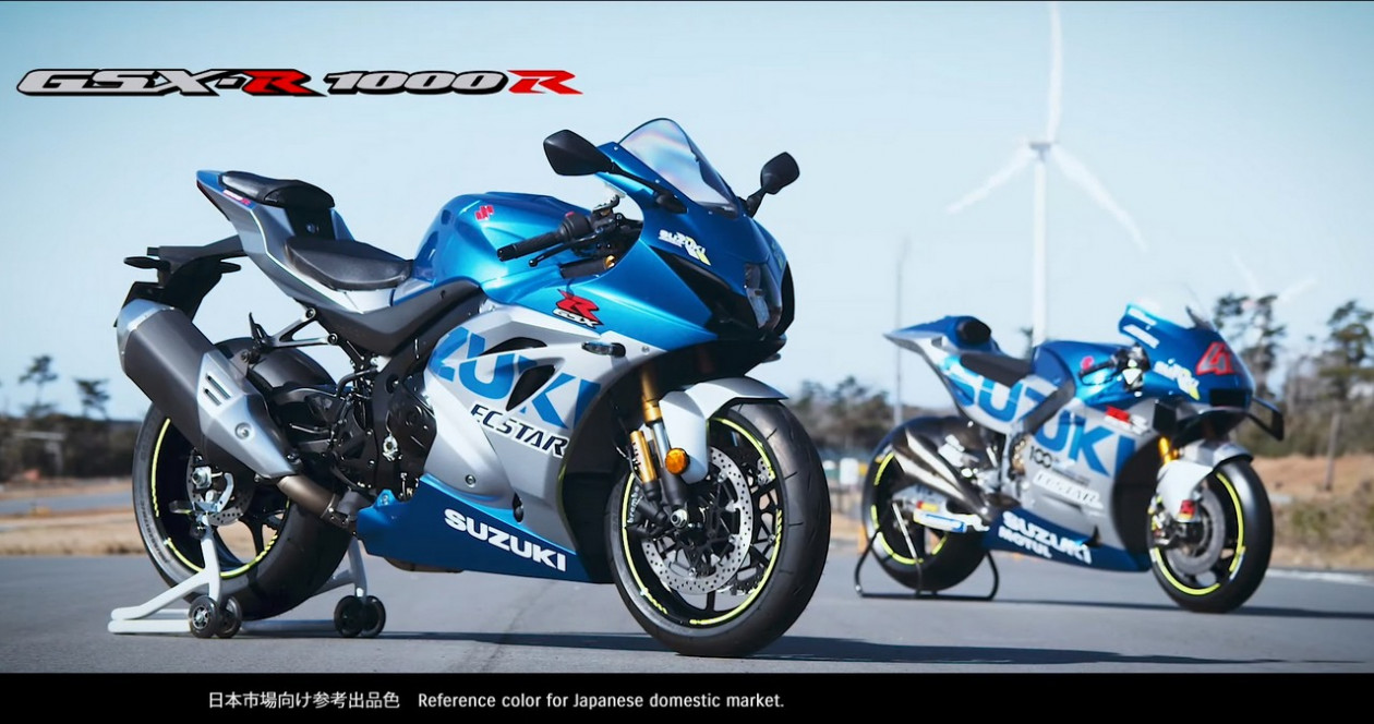 Suzuki GSX-R 1000R 2020 Ecstar Replica - Video