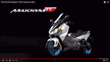 SYM Maxsym TL500 - Promo Video