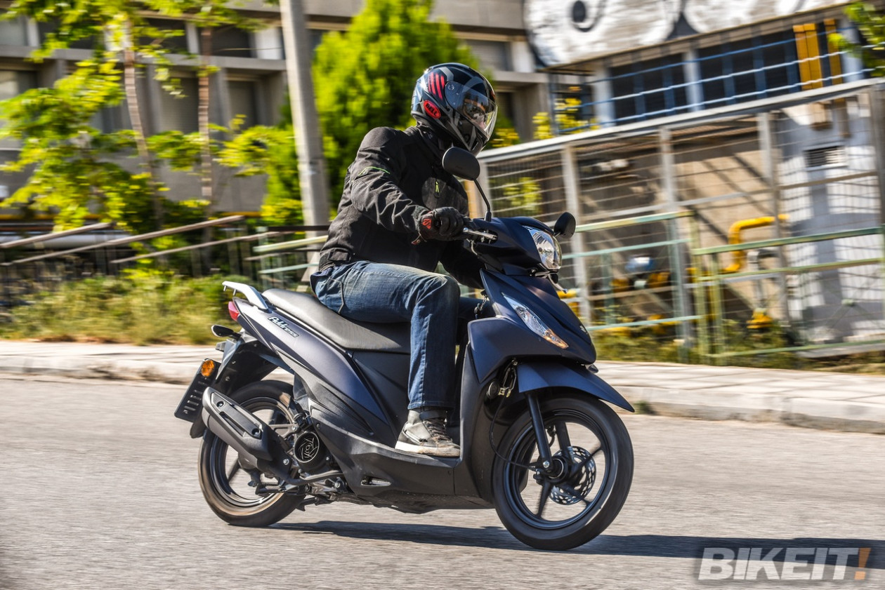 TEST - Suzuki UK 110 Address 2019