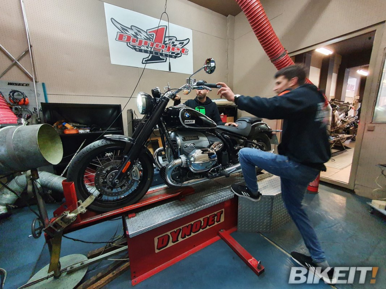 Video Dyno test - BMW R18