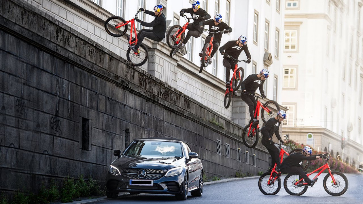 Wibmer's Law: O Danny Macaskill βρήκε αντίπαλο - Τρελό Video