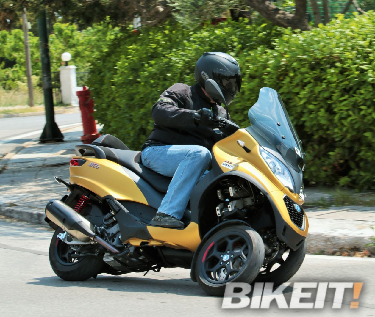 Test – Piaggio MP3 500 HPE Sport Advanced 2020
