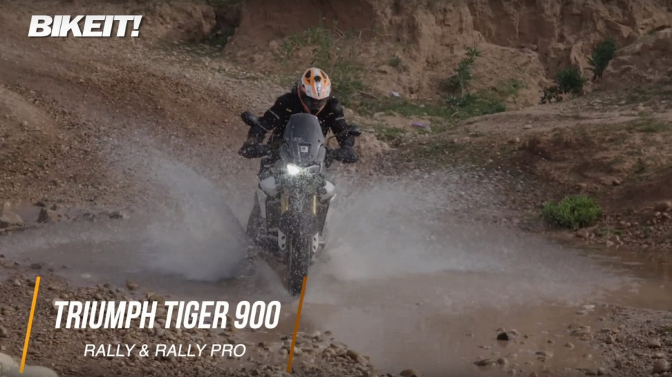 Video Test - Triumph Tiger 900 GT/Rally