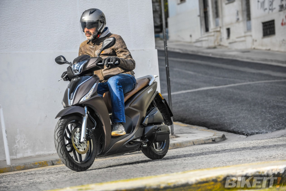 TEST – KYMCO People-S 150i ABS  - O άνθρωπος σου!