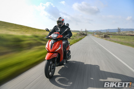 Test ride τα νέα Beverly 300 και 400 στην Piaggio Lymperopoulos