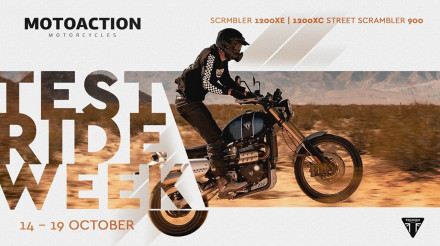 Triumph Scrambler's Test Ride Week στο Motoaction