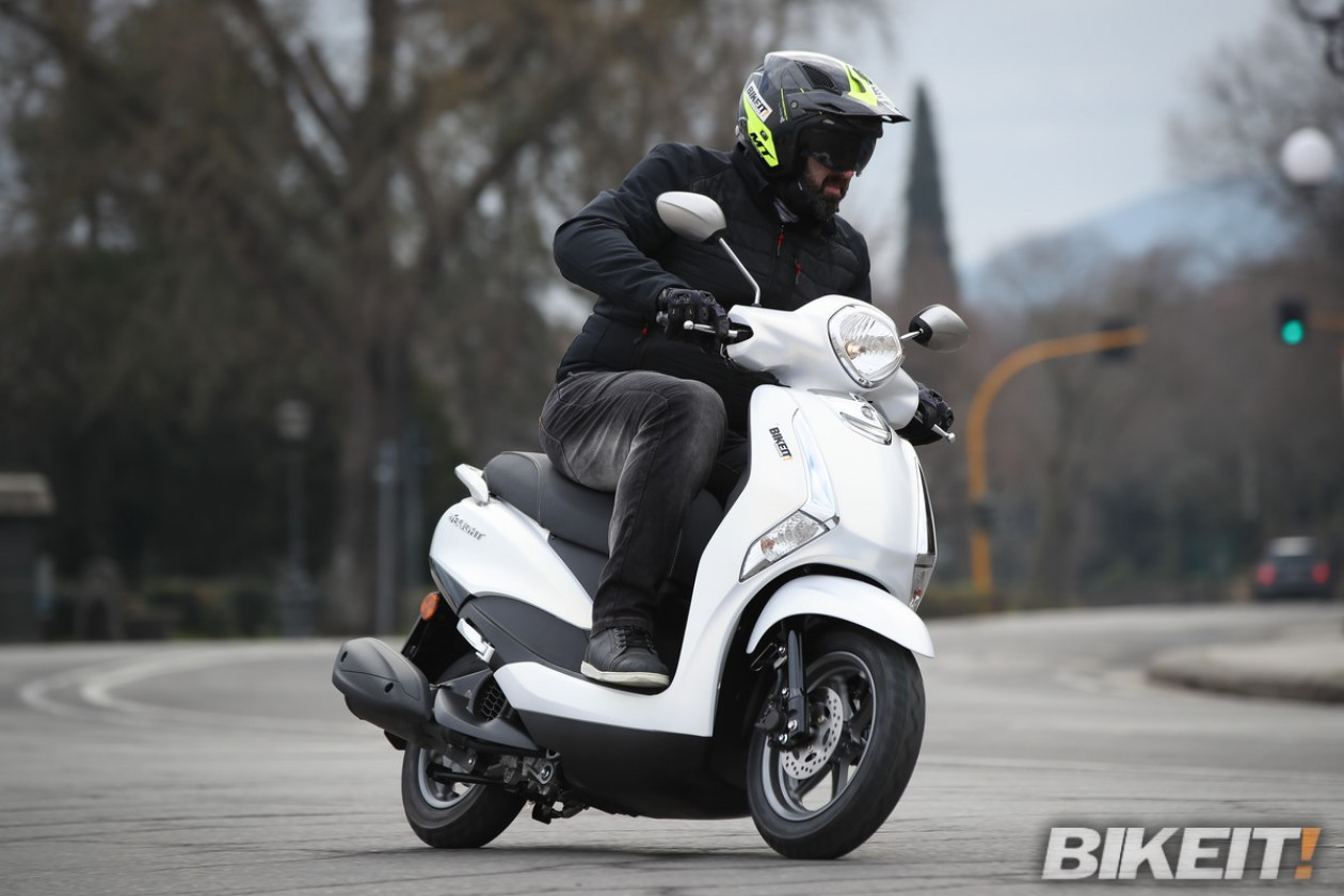 Video Test Ride - Yamaha D'Elight 125 - 2021