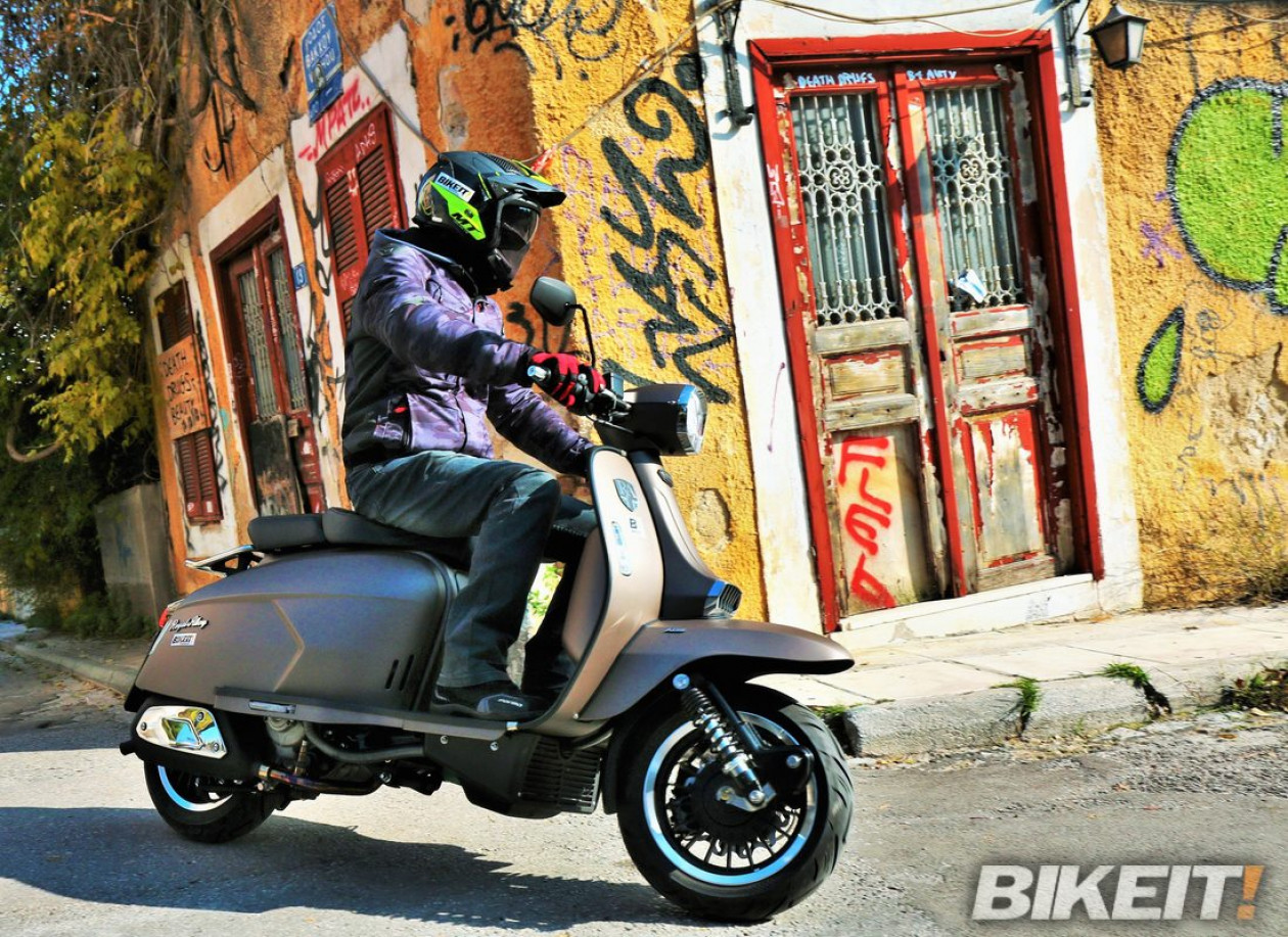 TEST- Royal Alloy GP 300i S ABS 2020