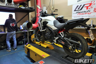 Honda CB500X 2021 - Video Dyno Test