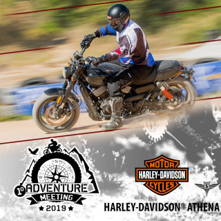 Harley-Davidson Flat Track στο 1ο Adventure Meeting!