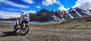 Honda Africa Twin - Adventure Roads Tour στην Ισλανδία