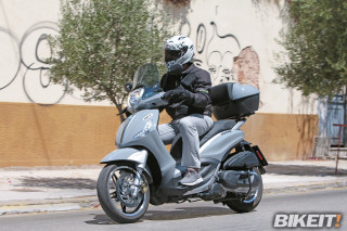 TEST – Piaggio Beverly Tourer 350