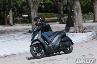 TEST – SYM HD300 F4s 2019