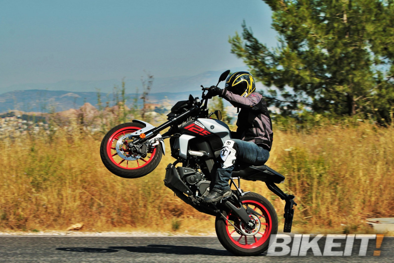 Test - Yamaha MT-125 ABS 2020