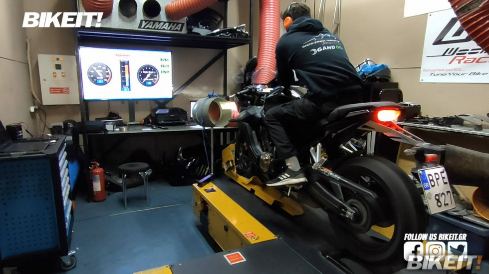 Dyno Test - Honda CBR 650R 2021 - Video