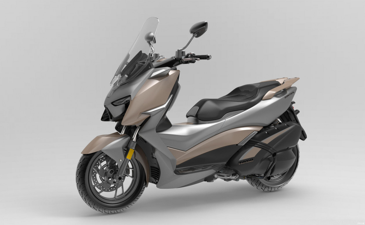 Zontes 310M - Νέο Maxi-scooter, χτυπά την κορυφή της κατηγορίας