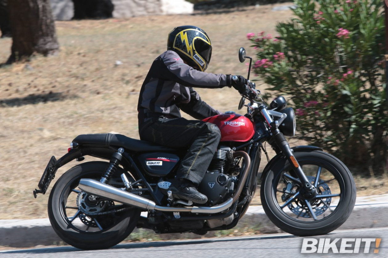 Video Test - Triumph Street Twin