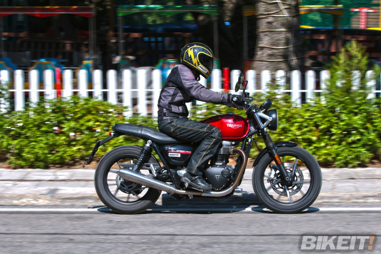 Test - Triumph Street Twin 2019