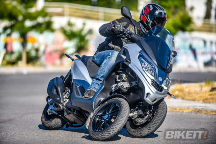 TEST - Piaggio MP3 300 HPE 2019
