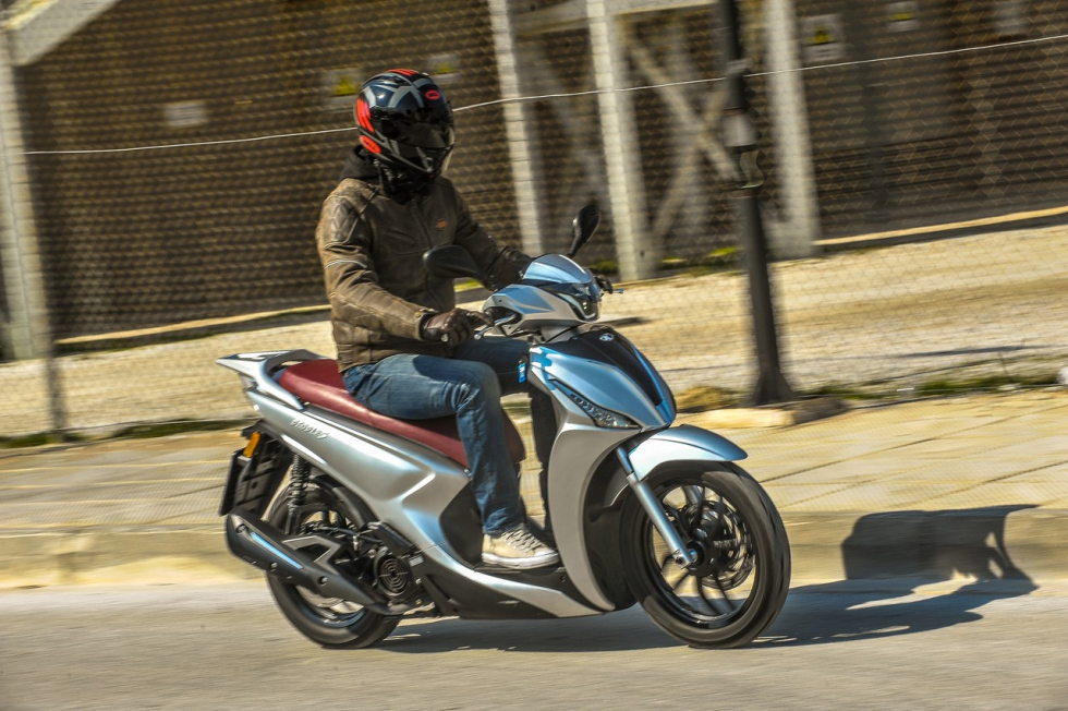 TEST – KYMCO People-S 125i ABS 2019
